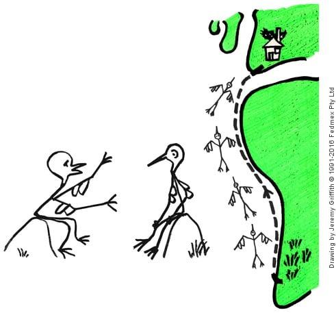 Adam Stork Story - 6. Conscious Adam's talk with his instincts