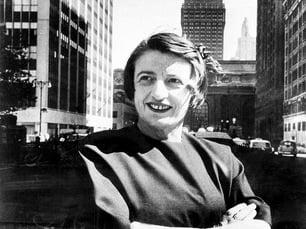 Ayn Rand in Manhattan, 1957