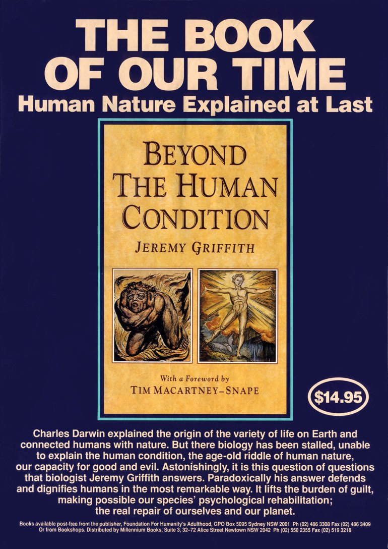 Beyond The Human Condition Poster Front