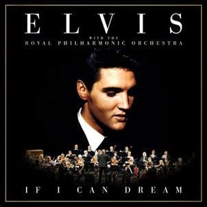 Elvis Presley 'If I Can Dream' album cover