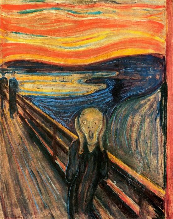 Munch's The Scream painting