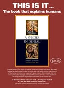 A Species In Denial – Poster