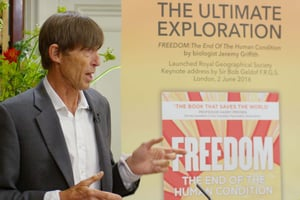Tim Macartney-Snape at the launch of FREEDOM
