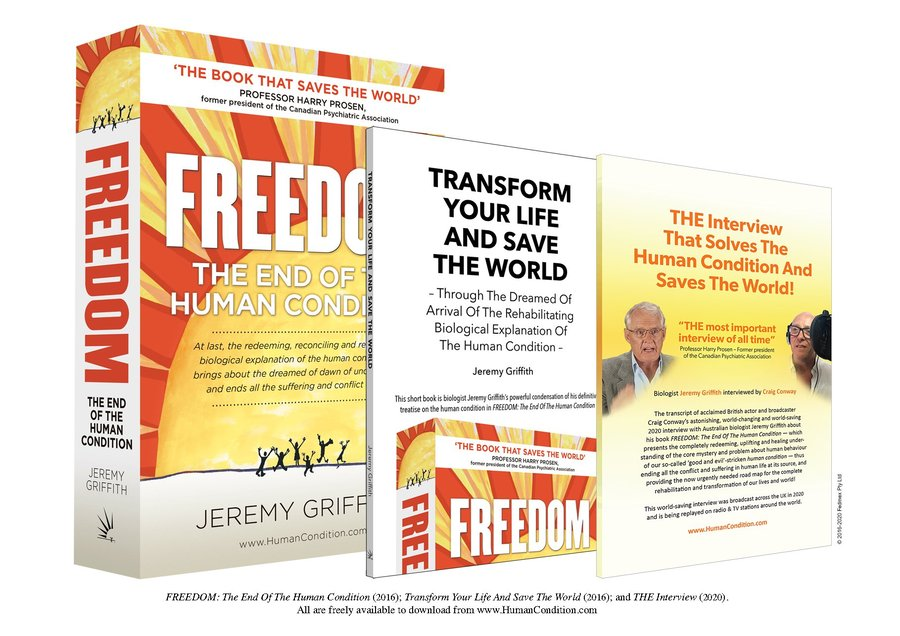 FREEDOM, Transform Your Life, THE Interview, book covers