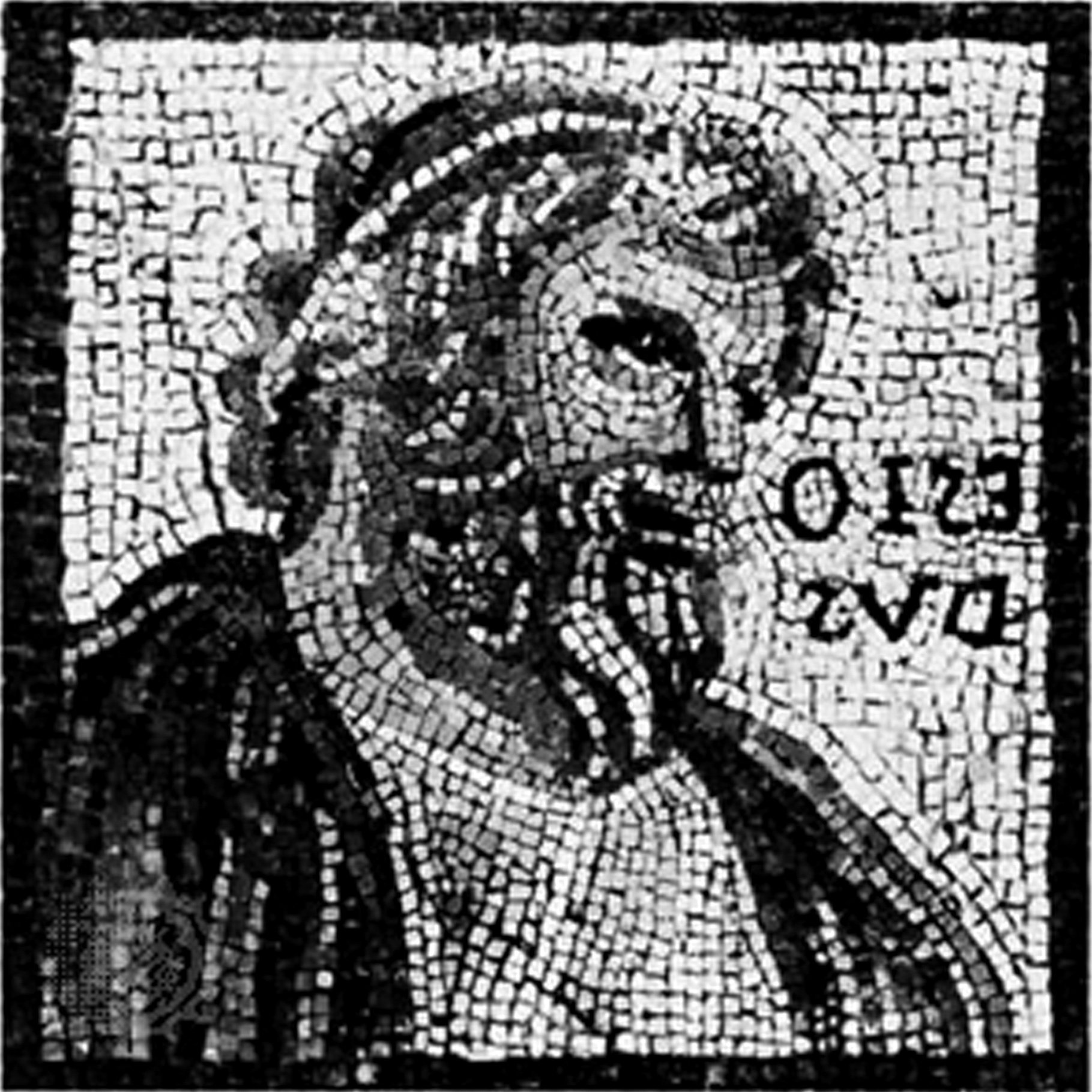 Hesiod, from the Monnus mosaic, c.200