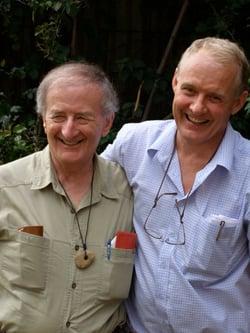 Harry Prosen with Jeremy in Sydney in 2007