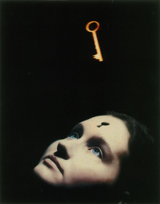 Key Unlocking the Mind illustration by Matt Mahurin for 'Time', Nov. 29 1993