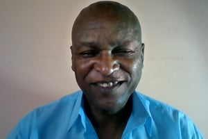 Reginald Khotshobe is a Xhosa-speaking South African, of the Gqwashu clan, a descendent of the Khoi-sans (Bushmen)