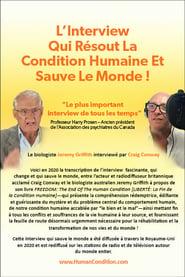 L'Interview qui résout la condition humaine et sauve le monde !