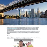 WTM Brisbane website