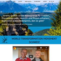 WTM Schweiz website