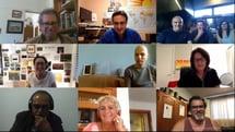 Screen of webinar attendees from November