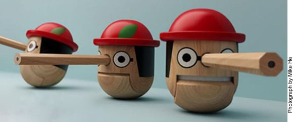 Pinocchio asks 'why do people lie?'