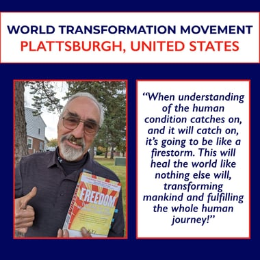 World Transformation Movement plattsburgh