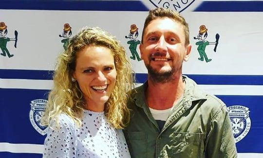 Amanda, founder of World Transformation Movement Ipswich, and Husband